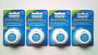 4 Oral-B EssentialFloss Waxed Mint Dental Floss 50m