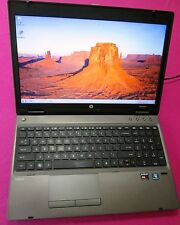 FAST! HP Probook 6565b laptop AMD A8-3520M 1.8-2.5ghz 6GB ram NEW 320GB hdd W7