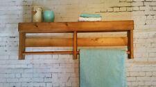 1 x grandi RUSTICO BAGNO DOPPIO Asciugamano Titolare Cottage/Farm House