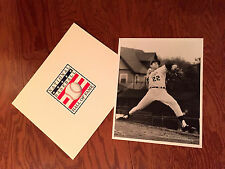 "RARE 1968  JIM PALMER Pitching For Rochester Redwings Action Photo  B/W 8"" x 10"""
