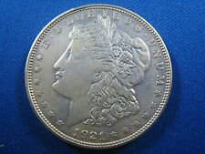 U.S.  1921   MORGAN DOLLAR - AU       (cnm$44)