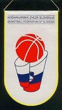 SLOVENIA BASKETBALL FEDERATION SMALL PENNANT 9x16cm