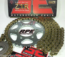 FZ-1 FZ1 '09-13 JT GOLD Z1R 530 X-Ring ULTIMATE CHAIN AND SPROCKETS KIT ZVMX GXW