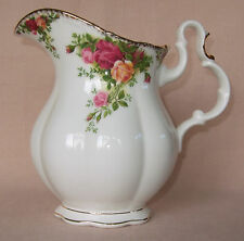 ROYAL ALBERT OLD COUNTRY ROSES LARGE WATER JUG, EWER, ENGLISH, FIRST QUALITY