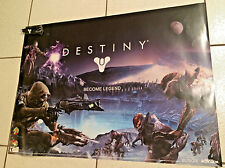 "Destiny ""Become Legend"" Video Game Promo Poster 27""x19"" Comes W/ Bracelet"
