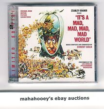 IT'S A MAD MAD MAD MAD WORLD Ernest Gold SOLD OUT Ltd Ed 2,000 OOP CD Soundtrack