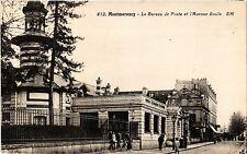 CPA  Montmorency - Le Bureau de Poste et l'Avenue Emile  (290160)