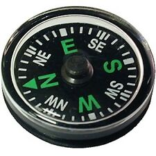 3 x MINI BUTTON COMPASS - Pocket Size 20mm - Navigation / Direction - Camping
