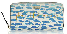 NWT Kate Spade Davenport Court Leather Lacey Wallet PWRU4320