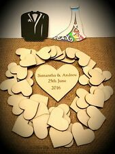 Drop Top Wedding Guest Book Extra Gift Tags Only (40mm x40mm) x 50