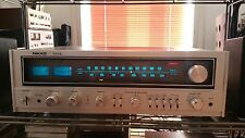 rare Nikko STA-7075 beautiful vintage stereo receiver silver wood worldwide ship