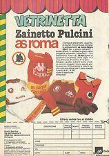 X2055 Completino Giuoco Calcio A.S. ROMA - Pubblicità 1984 - Advertising