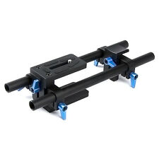 DSLR 15mm Rail Rod Support system for matte box Follow Focus 5DII 650D D5300 D90