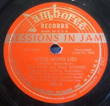 Don Byas - Little White Lies / You Came Along - Jamboree 902 - Sessions In Jam