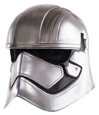 Star Wars The Force Awakens Captain Phasma deluxe 2 Piece Mask New Rubies 32304