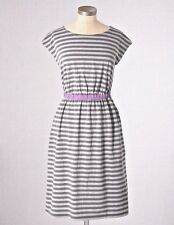 NEW $78 BODEN SOFT STRETCH COTTON JERSEY GRAY NEWQUAY DRESS WH515 - SIZE US 16L