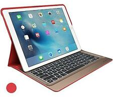 "NEW Logitech CREATE 12.9"" Keyboard Case Red for iPad Pro with Smart Connector"