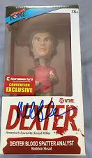MICHAEL C HALL DEXTER SIGNED ACTION FIGURE AUTOGRAPH TOY BOBBLEHEAD BOBBLE HEAD