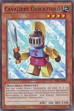 3x Cavaliere Giocattolo - Toy Knight YU-GI-OH! SECE-IT093 Ita COMMON 1 Ed.