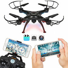 4CH 6-Axis FPV RC Drone Quadcopter Wifi Camera Real Time Video 2 Control Modes