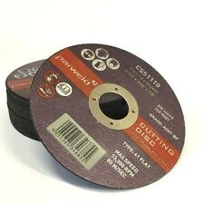 (PACK OF 20) PARWELD 115mm x 1mm thin metal cutting discs for angle grinder INOX