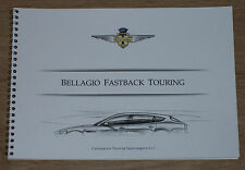 Brochure Bellagio Fastback by Touring Superleggera (Maserati Quattroporte), 2009