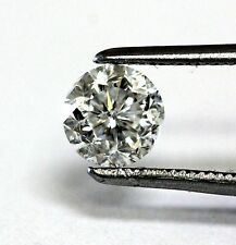 Clarity enhanced loose round cut diamond .71ct SI3 E 5.38x3.62mm vintage antique