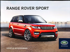 2014 Range Rover Sport Kit 30-page Car Dealer Accessories Brochure
