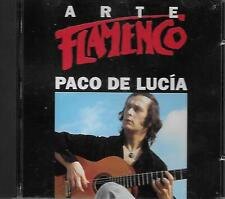 Paco De Lucia - Arte Flamenco  CD
