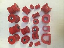 FORD CAPRI Mk 2 & Mk 3 Front and Rear Bush Set in Orange Polyurethane