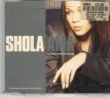 (DY685) Shola Ama, You Might Need Somebody - 1997 CD