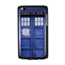 Tardis Doctor Dr Who Police Box Hard Case Cover for iPod Touch 4 4th Generation