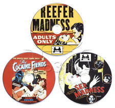 Madness Trilogy - Reefer Madness, Sex Madness, Cocaine Fiends 3 x DVD Collection