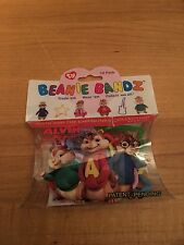 2010 Beanie Bands Alvin And The Chipmunks Pack Collection 12 In Pack MIP