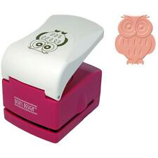 uchi's  cut & emboss embossing punch owl 32mm 1.25 inch  ep05