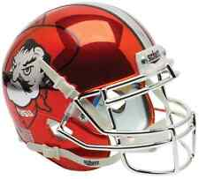 OKLAHOMA STATE COWBOYS Schutt AiR XP AUTHENTIC Football Helmet (CHROME)