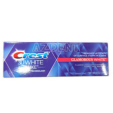Crest 3D White Luxe Glamorous Teeth Brighter Vibrant Mint Toothpaste 4.1OZ(116g)