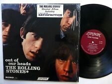 ROLLING STONES Out Of Their Heads LP 1st U.S. press w/HYPE STICKER shrink sm1356