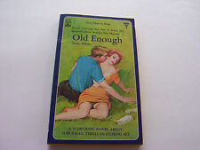 OLD ENOUGH  1965  HILARY HILTON   INNOCENT LUSTY COUGAR SEX    VERY GOOD