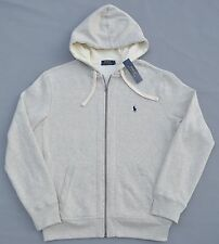 New XXL 2XL POLO RALPH LAUREN Men fleece hoodie jacket sweatshirt heather hoody