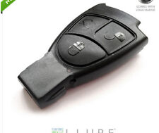 3 BUTTON REMOTE KEY FOB SHELL CASE FOR MERCEDES BENZ C E S B CLASS SL ML SLK CLS
