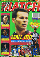 RYAN GIGGS MAN UTD / IAN RUSH / SPURS / NOTTS FOREST Match May 13 1995