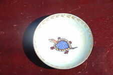 Nice Wedgwood shallow dish lustre turtle design 7cm wide