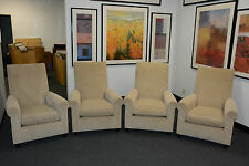 4 DONGHIA LOUNGE CLUB St JAMES TRANSITIONAL MODERN CONTEMPORARY DESIGNER CHAIRS