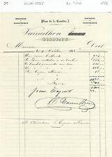 Dépt 33 - Bordeaux - Facture de 1400 Francs Or d'un Bijoutier Joaillier de 1865
