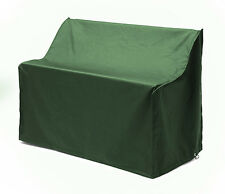 Green Waterproof 3 Seater Bench Cover Garden Furniture Heavy Duty PU Fabric
