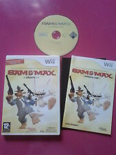Sam and Max saison 1 - Nintendo WII compatible WII U - PAL complet
