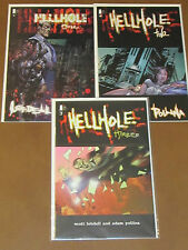 HELLHOLE # 1 - 3 NM COMPLETE IMAGE LIMITED SERIES LOBELL POLLINA MACABRE MAYHEM