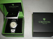 Croton Men's Watch CA3012375ATM Water Res.,Automatic,Stainless,NEW IN BOX