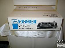Fisher MT-914 B Stereo Turntable Brand New